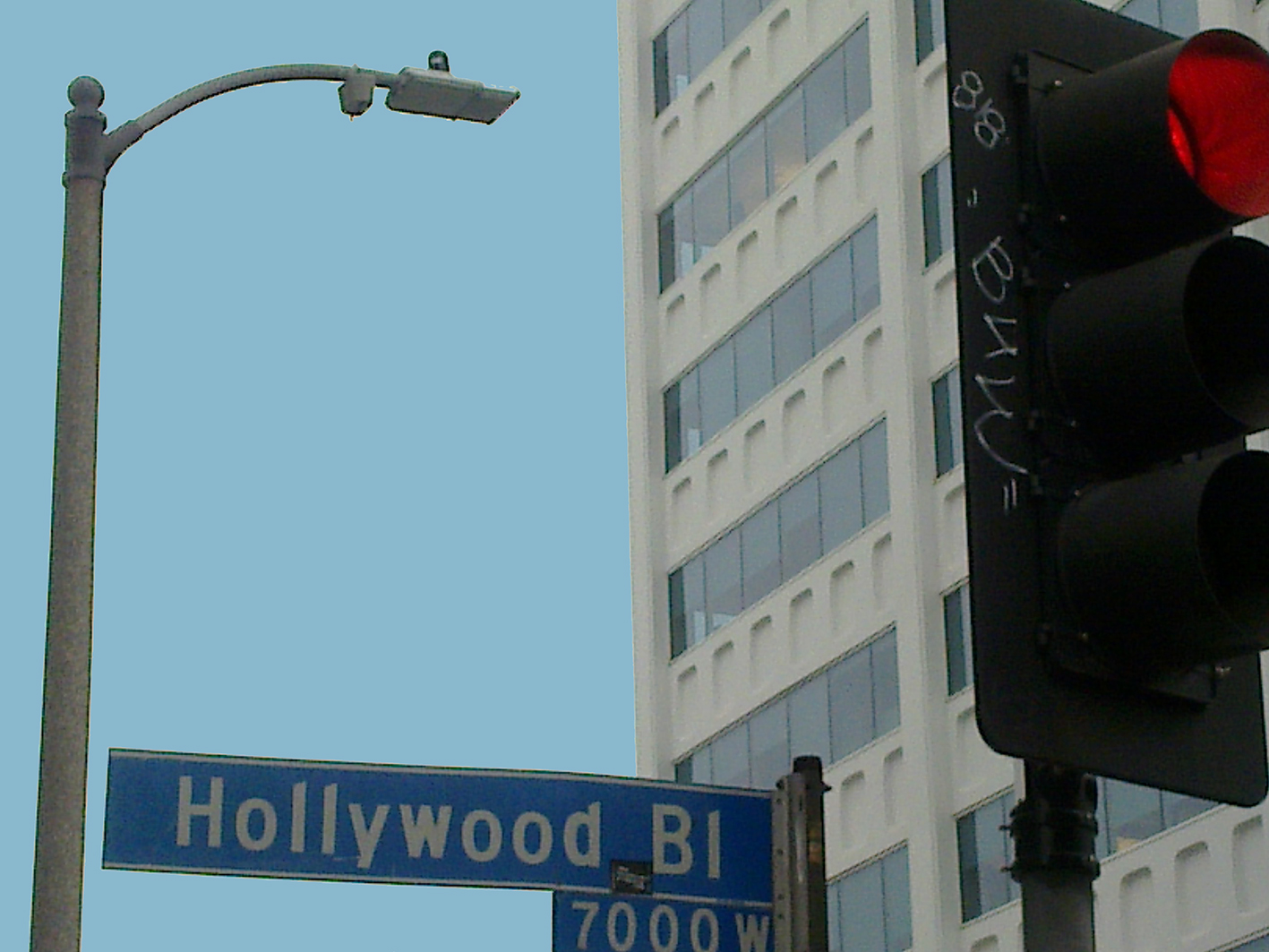 FOTO BLOG  HOLLYWOOD BOULEVARD
